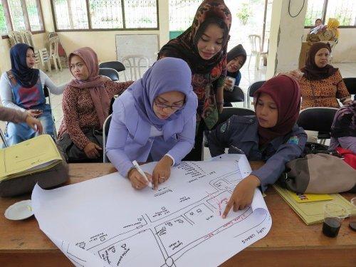 Steun aan STBM in de provincie Lampung