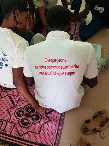 Kennisvergroting over seksuele en reproductieve gezondheid en rechten (SRGR) voor adolescenten en jongeren in Benin