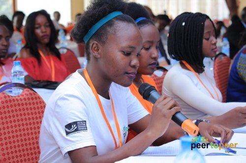 Oegandese jongeren laten van zich horen